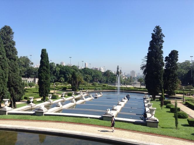 Vista do Museu do Ipiranga